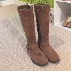Shoes - Real Suede riding boots